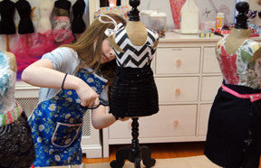 fashion designer birthday party for kids in NYC