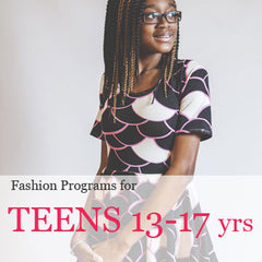 fashion design and sewing programs for teenagers in manhattan