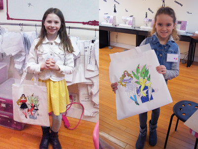 tote bag sewing birthday party in new york