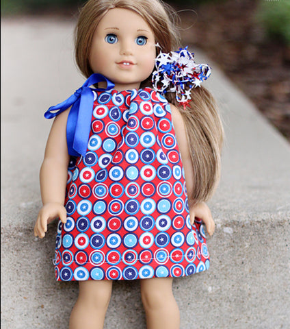 Sew an American Girl Doll Dress: One Hour Private Machine Sewing Lesson via Zoom