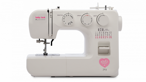 Baby Lock Joy Sewing Machine - Available Now