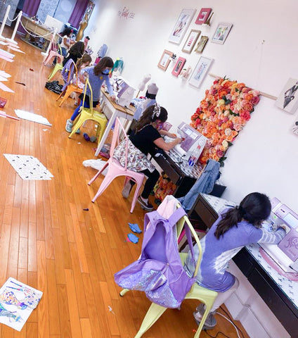 Fashion Design & Sewing for Kids - Bryant Park - Spring 2021