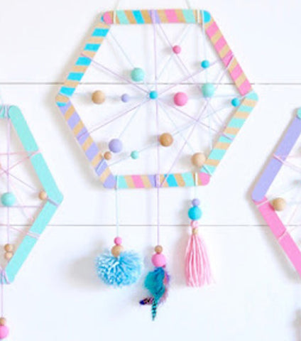 Tues 4/7 2PM How to Make a Dream Catcher via Zoom - Kids