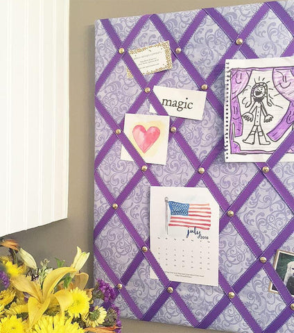 Mon 6/1 4PM Craft a Fabric and Ribbon Photo Board via Zoom - Ages 6+
