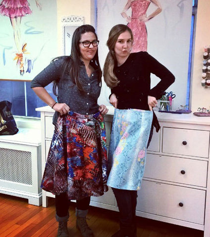 Dec 19th - Create & Sew a Scarf and Mittens set -DIY Gifts series - Bryant Park Studio