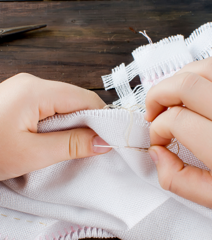Thursday 6/18 4:45PM Hand Sewing 101 via Zoom - Ages 8+