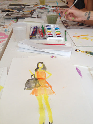 Fashion Illustration for Teens - Bryant Park