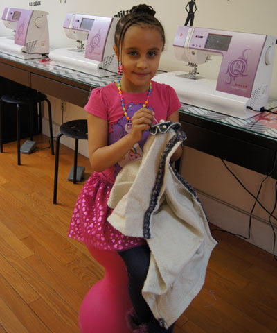 Hand Sewing for Kids - Bryant Park