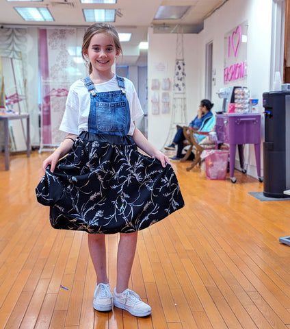 Home School Fashion 101 for Kids - Bryant Park
