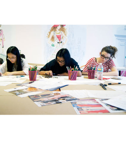 Portfolio Development and College Fashion Admissions Prep Workshop for Teens