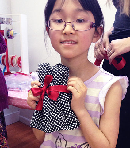 March: American Girl Doll Dress Making Workshop in Bryant Park