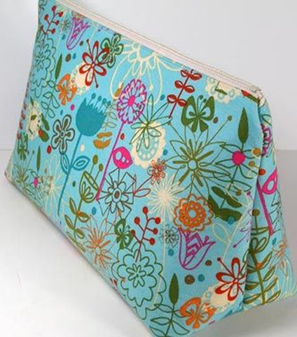 Zippered Pencil Case or Makeup Bag: 2 Hr Private Machine Sewing Lesson via Zoom
