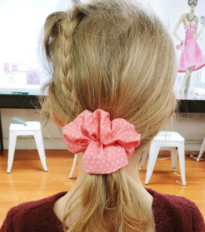 April: Sew Fashionable Scrunchies Workshop on the UES
