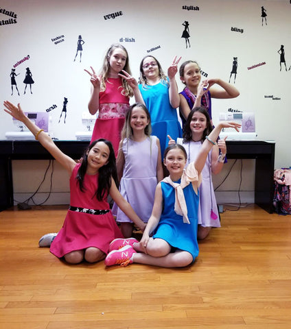 Fashion + Sewing Summer Camp for Tweens 9-12yrs - 2020 - Bryant Park