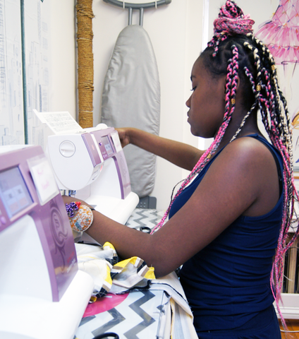 Fashion Design & Sewing for Teens - Bryant Park - Spring 2021