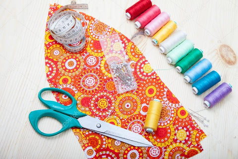 Beginner's Sewing Kit and Cotton Fabric - Available Now
