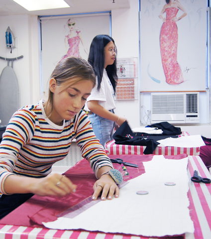 Patternmaking for Teens - Bryant Park