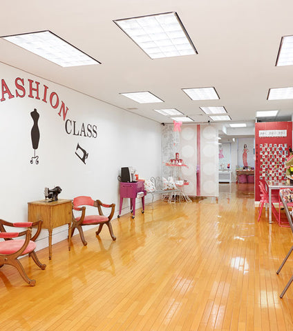 Fashion + Sewing Summer Camp for Teens 13-17yrs - 2019 - NYC