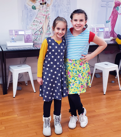 Fashion + Sewing Summer Camp Half Day - 2020 - Bryant Park