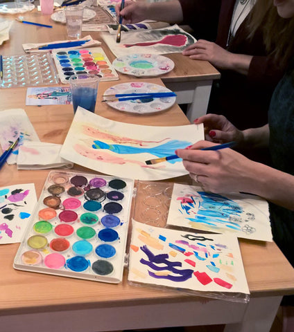 Tues 4/14 6PM Fashion Illustration with Watercolor via Zoom - Adults & Teens