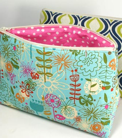 Wristlet with Lining and Zipper: 2 Hour Private Machine Sewing Lesson via Zoom
