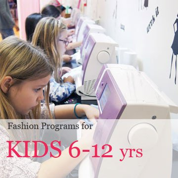 Fashion Design and sewing programs for children in manhattan