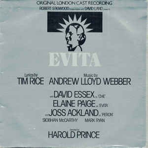 Tim Rice Andrew Lloyd Webber ‎– Evita (Original London Cast Recording)  (1978)