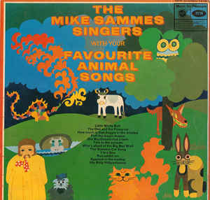 Mike Sammes Singers ‎– Favourite Animal Songs  (1970)