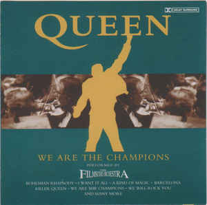 The Film Score Orchestra ‎– Queen We Are The Champions  (1999)