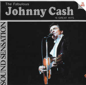 Johnny Cash ‎– The Fabulous Johnny Cash - 16 Great Hits