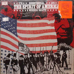 Various ‎– Bicentennial 1776 The Spirit Of America 1976 - A Musical Salute  (1975)