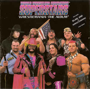 World Wrestling Federation Superstars ‎– Wrestlemania - The Album  (1993)