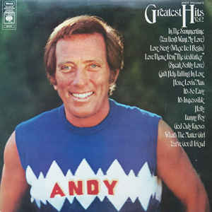 Andy Williams ‎– Andy William's Greatest Hits Vol 2  (1972)