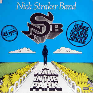 Nick Straker Band ‎– A Walk In The Park  (1979)