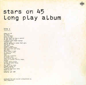 Stars On 45 ‎– Long Play Album  (1981)