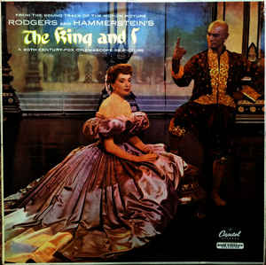 Rodgers And Hammerstein ‎– The King And I (Motion Picture Sound-track)