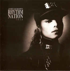 Janet Jackson ‎– Rhythm Nation 1814  (1989)