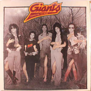 Giants ‎– Thanks For The Music (1976)
