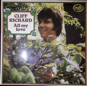 Cliff Richard ‎– All My Love  (1970)