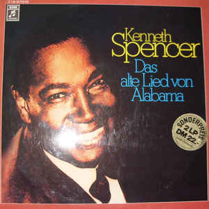 Kenneth Spencer ‎– Das Alte Lied Von Alabama