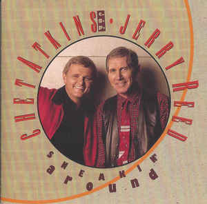 Chet Atkins , C.G.P. Jerry Reed ‎– Sneakin' Around  (1992)   CD