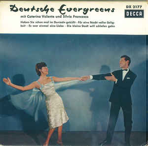Caterina Valente Und Silvio Francesco ‎– Deutsche Evergreens (1960)