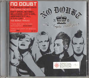 No Doubt ‎– The Singles 1992 - 2003 (2003)
