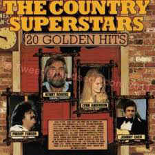 Various ‎– The Country Superstars Golden Hits (1989)