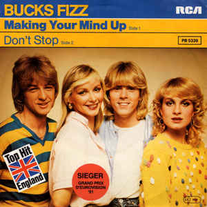Bucks Fizz ‎– Making Your Mind Up (1981)