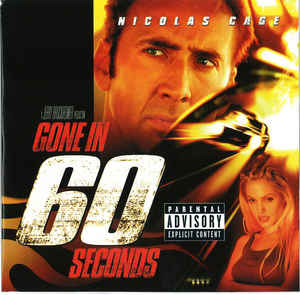 Various ‎– Gone In 60 Seconds: Music From The Motion Picture