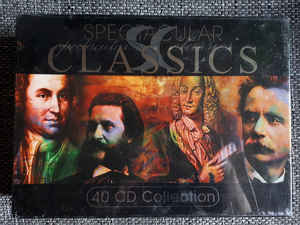 Various ‎– Spectacular Classics Set 40 CD Collection (2004)