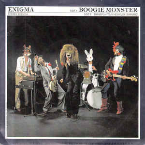 Enigma (12) ‎– Boogie Monster (1978)