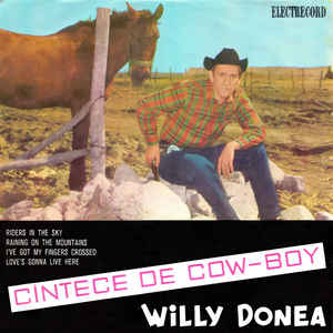 Willy Donea ‎– Cîntece De Cow-Boy (1968)