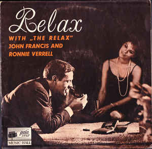 The Relax, John Francis (6) And Ronnie Verrell ‎– Relax